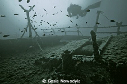 TETI wreck of a steamship built in 1883.  Sunk on 23 May ... by Gosia Nowodyla 